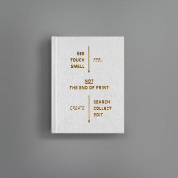 Not the End of Print – Warum Gestalter selbst publizieren und welche Rolle das Print-Medium dabei spielt
